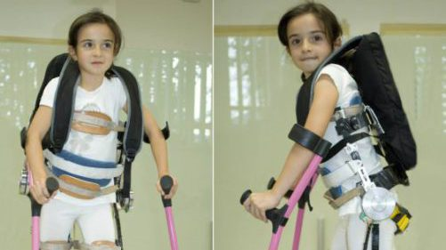 A Spanish exoskeleton for Daniela